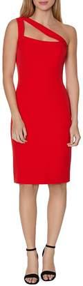 Laundry by Shelli Segal One-Shoulder Cutout Dress