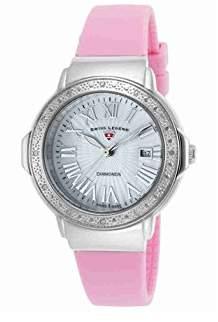 Swiss Legend Women's 20032DSM-02-PKS South Beach Analog Display Swiss Quartz Pink Watch