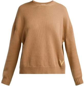 Valentino Cashmere Sweater - Womens - Camel