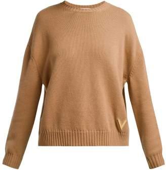 Valentino Cashmere Sweater - Womens - Camel