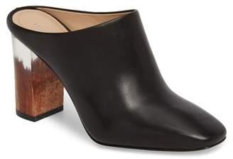 Pour La Victoire Rilo Leather Block Heel Mule