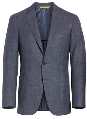 Canali Classic Fit Wool Blend Sport Coat
