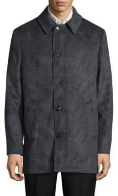 Lauren Ralph Lauren Notch Collar Long Sleeve Jacket