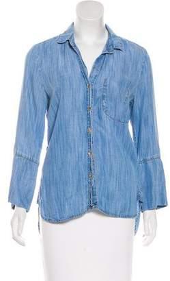 Bella Dahl Long Sleeve Button-Up Top