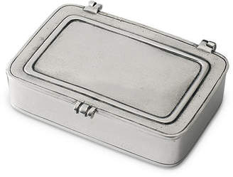 Match Pewter Large Handmade Italian Pewter Lidded Box