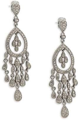 Adriana Orsini Women's Crystal Teardrop Chandelier Earrings