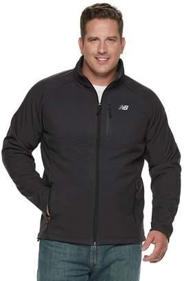 New Balance Men's Sherpa-Lined Hooded Softshell Jacket