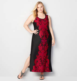 Avenue Damask Maxi Dress