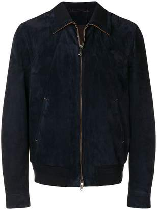 Ermenegildo Zegna short zipped jacket