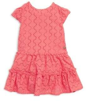 Lili Gaufrette Baby's Sorbet Crocheted Dress