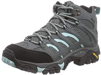 Merrell Moab Mid Gore-TexWomen's 's Speed Laces Low Trekking and Walking Shoes - Sedona Sage, (42 EU)