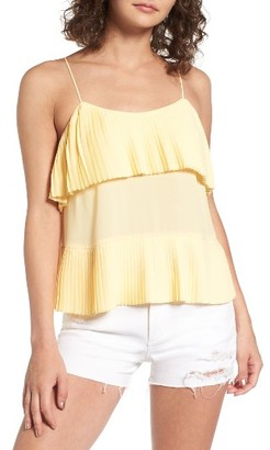 Women's Leith Accordion Pleat Camisole $49 thestylecure.com
