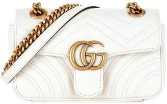 Gucci Mini Marmont Chevron Shoulder Bag