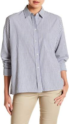 Vince Boxy Striped Shirt