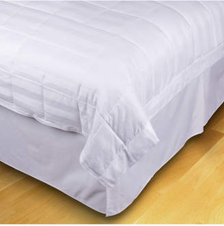 EcoPure Quilted Stripe Jacquard Full/Queen Down-Alternative Blanket Bedding