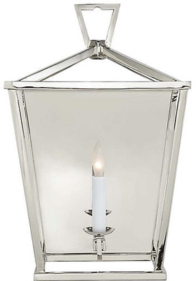 Visual Comfort & Co. Darlana Lantern Sconce - Polished Nickel