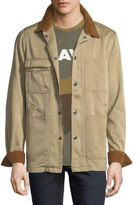 G Star G-Star Men's Blake Worker Denim Twill Jacket
