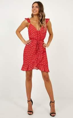 Showpo Summer tale dress in red