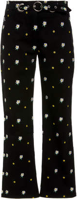 Miaou Tommy High Waisted Cropped Skinny Jean