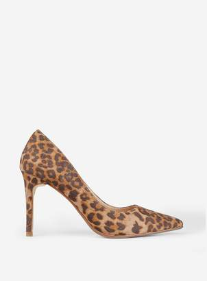 71170a16750e Dorothy Perkins Womens Multi Coloured Leopard Print 'Danielle' Court Shoes