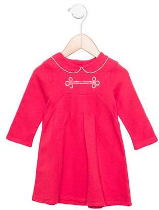 Little Marc Jacobs Girls' Long Sleeve Dress