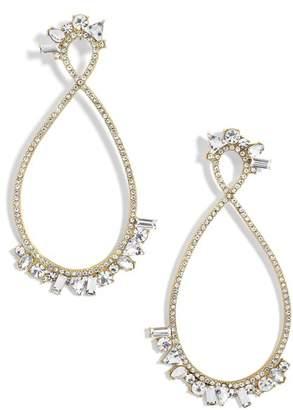 BaubleBar Anastasia Hoop Earrings