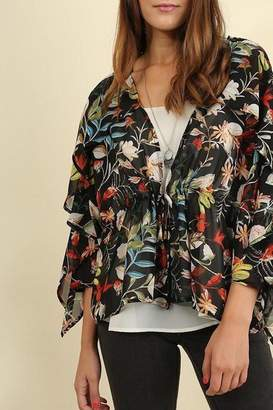 Umgee USA Kimono Floral Garden