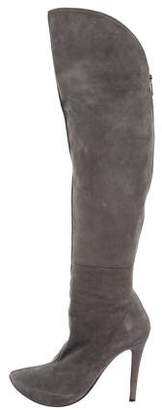 Walter Steiger Suede Over-The-Knee Boots