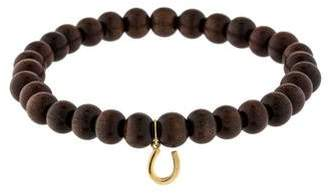 Sydney Evan Horseshoe Bead Bracelet
