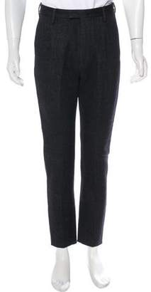 DSQUARED2 Wool & Hemp Cropped Pants