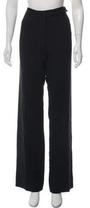Protagonist Wool Mid-Rise Pants Black Wool Mid-Rise Pants