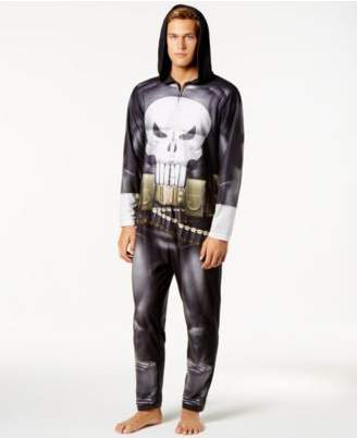 Briefly Stated Men's Punisher Costume Jumpsuit