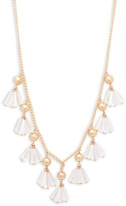 Natasha Shaky Rope Lucite Necklace