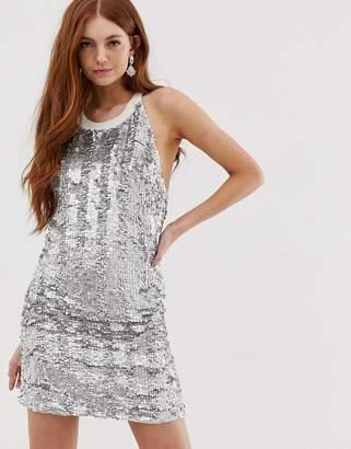 Deby Debo Bozozka Embellished Slip Dress