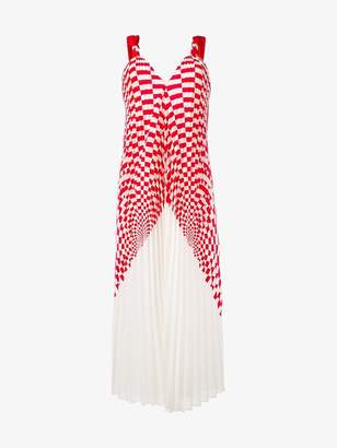 Fendi pleated midi dress