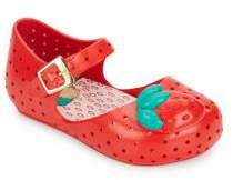 Girl's Strawberry Mary Jane Flats $58 thestylecure.com