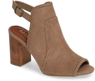 Mia Pat Perforated Open Toe Bootie