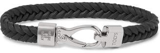 Tod's Woven Leather Bracelet