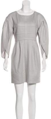 Fendi Fleecewool Mini Dress