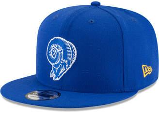 New Era Los Angeles Rams Historic Vintage 9FIFTY Snapback Cap