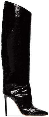 Alexandre Vauthier Alex 100 sequinned boots