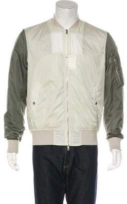 Rag & Bone Colorblock Utility Bomber Jacket
