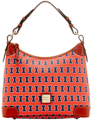 Dooney & Bourke Illinois Fighting Illini Hobo Bag
