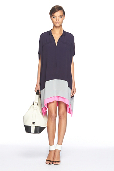 Hatsu Color Block Dress
