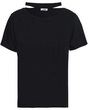 LnA Detailed At Collar Jersey T-Shirt