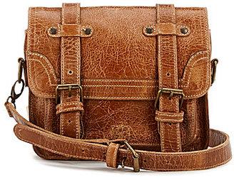 Bed Stu Tiffany Double-Buckle Messenger Bag $198 thestylecure.com