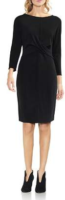 Vince Camuto Crossover Front Dress