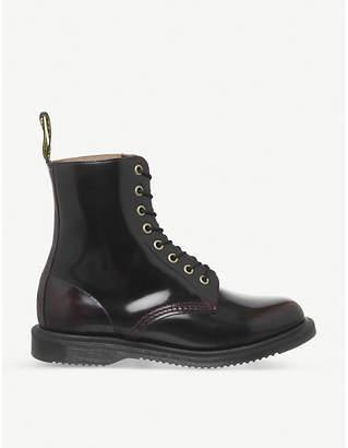 Dr. Martens Elsham patent-leather ankle boots