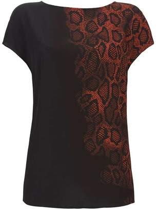 a6be429602b Mint Velvet Black Molly Animal Print Tee