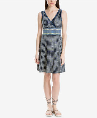 Max Studio London Printed Fit & Flare Dress, Created for Macy's
